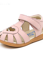 Girls' Sandals Comfort First Walkers Summer Leatherette Casual Blushing Pink Silver White Flat