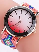 Жен. Модные часы Наручные часы Уникальный творческий часы Повседневные часы Китайский Кварцевый Plastic Группа Радужный Повседневная