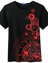 Ispirato da Date A Live Cosplay Anime Costumi Cosplay Cosplay T-shirt Cartoni animati Manica corta Top Per Unisex