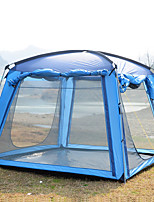 Trackman® 3-4 persons Tent Screen House Single Camping Tent Family Camping Tents Rain-Proof Dust Proof Foldable 1500-2000 mm for Camping