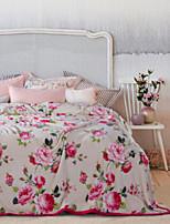 Super Soft Floral/Botanical Polyester Blankets