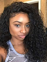 Kinky Curly Lace Front Human Hair Wigs-Glueless 130% Density Brazilian Virgin Lace Wigs with Baby Hair For Black Woman 10-26 Inches