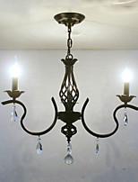 Европейский стиль хрустальный люстра ресторан небольшая люстра простые творческие лампы