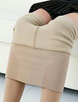 Women's Medium Solid Color Legging,Striped