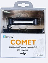 Задняя подсветка на велосипед LED LED Велоспорт На открытом воздухе Подсветка USB Люмен USB Натуральный белыйПовседневное использование