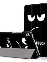 Tampa da capa de impressão para lenovo tab4 guia 4 8 mais tb-8704f tb-8704n 8704 com protetor de tela