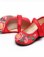 Girls' Sandals Comfort Fabric Summer Casual Comfort Blushing Pink Green Ruby Under 1in