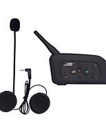 Motocicleta VNETPHONE V3.0 Auricular y Micrófono Bluetooth Pendiente de estilo colgante Transmisores FM Puerto USB Reproductor MP3