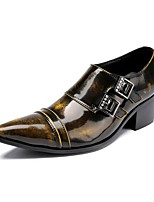 Men's Loafers & Slip-Ons Amir's Fashion Dress Novelty Cowhide Patent Leather Party & Evening Originality