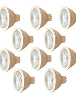 7W Faretti LED 6 SMD 3030 580 lm Bianco caldo Bianco V 10 pezzi MR16