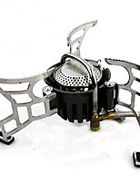 Camping Stove Single Stainless steel Aluminium for Picnic Camping & Hiking Outdoor BBQ