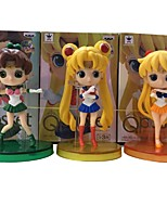 Anime Action Figures Inspired by Sailor Moon Sailor Moon PVC CM Model Toys Doll Toy 1set