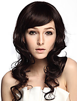 Wig Capless Long Black Synthetic Fiber Wig Heat Resistant Hairstyle