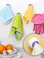 4шт набор стиральная ткань клип вешалка присоска держатель кухонный шкаф для хранения посуды санузел кухня хранения полотенце для рук