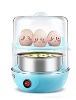 Egg Cooker Double Eggboilers 2 en 1 Multifonction Créatif Léger et pratique Style mini Légère 220V