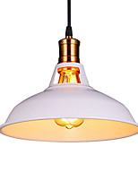 Max 60W Vintage Pendant Lights 1-light Metal Living Room Dining Room Hallway Lighting Diameter 11.8 in Pendant Lighting