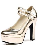 Для женщин Обувь на каблуках Гладиаторы Туфли лодочки Материал на заказ клиента Дерматин Весна Осень Для праздника Для вечеринки / ужина