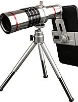 Pickogen 18x lente de telefonia de foco manual para iphone huawei xiaomi samsung para iphone 8 7 samsung galaxy s8 s7