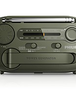 AE1120/93 Rádio portátil Radio FM Alto Falante Embutido Verde