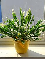 1 Филиал Пластик Pастений Букеты на стол Искусственные Цветы