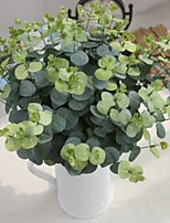 20inch Large Size 5 Branch Silk Polyester Plants Tabletop Flower Artificial Flowers