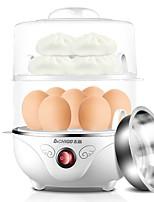 Egg Cooker Double Eggboilers Santé Léger et pratique Lavable Détachable 220V