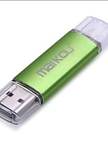 Maikou mk338 2 em 1 16gb otg usb 2.0 flash drive storage thumb u stick