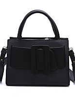 Women Bags All Seasons leatherette Shoulder Bag with Tiered for Wedding Event/Party Casual Sports Formal Outdoor Office & Career Black
