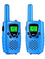 Talkies-walkies pour enfants 22 canaux micro usb chargeur radio 2 voies 3 miles (jusqu'à 5 milles) frs / gmrs mini walkie talkies