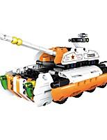 DIY KIT Building Blocks Educational Toy Pull Back Car/Inertia Car Vehicle For Gift  Building Blocks Tank Fighter Car RobotAcetate/Plastic