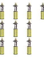 4W H1 120SMD2835 Near Light/Fog Lamp for Car White DC12V 10Pcs