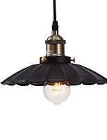 1 lampada a sospensione retro lampadario industriale vintage ciondolo leggero in stile country per barre diametro 24cm