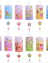 100%  целлюлоза из первичного сырья Свадебные украшения-12piece / Установить Свадьба День рождения Новорожденный Новый год