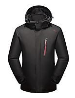 Men's Women's 3-in-1 Jackets Keep Warm Breathable Wearproof 3-in-1 Jackets for Running/Jogging Camping / Hiking Climbing Winter