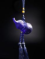 DIY Automotive Pendants  Chinese Style  Luxury Gourd Pendant  Car Pendant & Ornaments  Glass