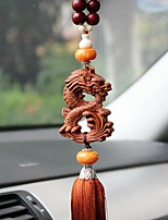 DIY Automotive Pendants  Chinese Style Dragon Peace Symbol  Car Pendant & Ornaments  Woody