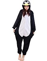kigurumi Pyjamas Manchot Collant Fête / Célébration Pyjamas Animale Halloween Animal Molleton Kigurumi Pour Couple UnisexeHalloween Noël