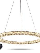 Светодиодные кольца кристалл подвесной светильник современные хрустальные люстры потолочные светильники комнатные светильники светильники
