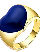 Couple Rings Band Rings Women's Fashion Luxury Elegant Creative Heart  Rings Party Daily Wedding Gift Jewelry