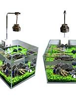 Décoration d'aquarium Plante d'eau Non toxique & Sans Goût Bois