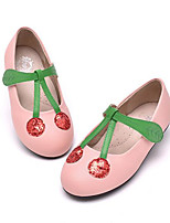 Girls' Flats Comfort Spring Fall Leatherette Casual Royal Blue Blushing Pink Flat