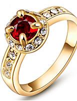 Жен. Кольца для пар Кольца на вторую фалангу Классические кольца Стразы Базовый дизайн Классика Elegant Мода По заказу покупателя