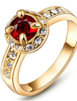 Settings Ring Band Ring 6 Colors Luxury Women's Euramerican Fashion  Birthday Wedding Movie Gift Jewelry