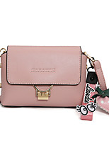 Women Bags All Seasons PU Shoulder Bag with for Event/Party Casual Formal Outdoor Office & Career Black Blushing Pink Brown khaki