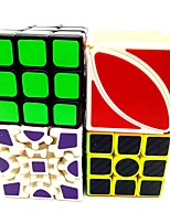 Rubik's Cube Smooth Speed Cube Stress Relievers Magic Cube Engineering Plastics Carbon Fiber