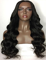 8-26 Inch Top Glueless Lace Human Hair Wigs For Dark Skin Women Body Wave Soft Lace Front Wigs