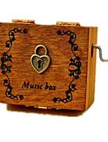Boîte à musique Carrousel Plastique Bois