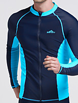 New Diving Suit Split Male Long Sleeve Zipper Diving Suit Jellyfish Clothing Surfing Suit Male Split Sunscreen Swimsuit