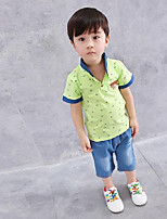 Boys' Embroidered Sets,Cotton Summer Clothing Set