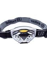 Lampes Frontales LED 500 Lumens 3 Mode LED Batteries non incluses Légère pour Camping/Randonnée/Spéléologie Usage quotidien Cyclisme